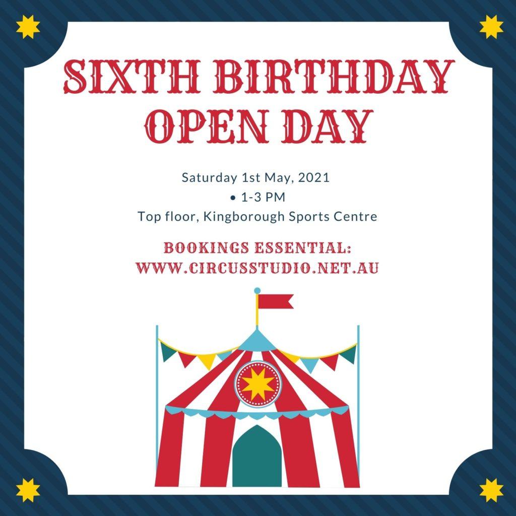 Sixth birthday 1-3pm Saturday 1st May